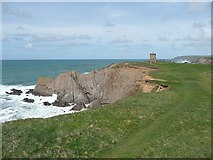 SS2006 : Compass Point and Tower, Bude by Humphrey Bolton