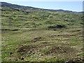 NR7973 : Moorland above Ormsary by Patrick Mackie