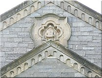 SS2006 : Carving on Methodist Church, Bude by Humphrey Bolton