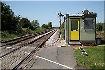 SK8875 : Sykes Lane level-crossing by Richard Croft