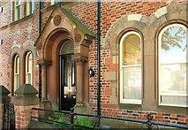 J3372 : Door and windows, Belfast by Albert Bridge