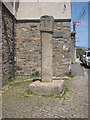 SW5535 : Ancient cross in St Erth by Rod Allday