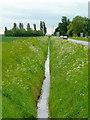SE6920 : Drain beside lane by Jonathan Billinger