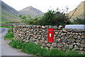 NY1808 : Victorian postbox, Wasdale Head by N Chadwick