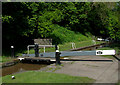 SJ6543 : Audlem Locks (No 14), Shropshire Union Canal, Cheshire by Roger  Kidd