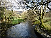NY3704 : Looking upstream on the Rothay by DS Pugh