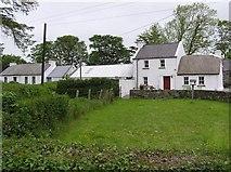 C4948 : Farmhouses, Fawn by Kenneth  Allen