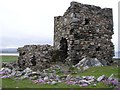 C3952 : Carrickabraghy Castle, Doagh Island by Kenneth  Allen