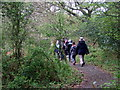 SM9102 : School trip to the nature reserve by ceridwen