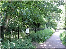 TQ1977 : Home of the Two-Lipped Door Snail, Kew by Chris Reynolds