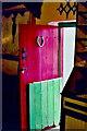 B8231 : Brinlack - Front door of heritage 4-room cottage by Joseph Mischyshyn