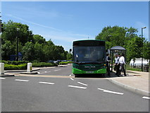 SU4828 : St. Catherine's Park and Ride, Winchester by Dr Neil Clifton