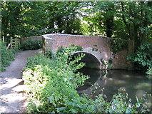 SU4828 : Wharf Bridge, Winchester by Dr Neil Clifton