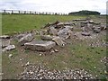 NZ2115 : Remains of Roman Bridge, Piercebridge by Oliver Dixon