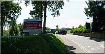 SX9392 : Exeter : Royal Devon & Exeter Hospital Entrance by Lewis Clarke