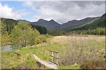 NM8363 : Strontian footpath by John Naisbitt