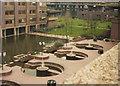 TQ3281 : Barbican centre terrace, 1984 by Stephen Craven