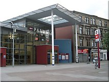 NS5566 : Partick Station entrance by Stephen Sweeney