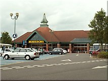 TL2512 : Morrisons store along Black Fan Road by Robert Edwards