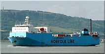 J3778 : The 'Maersk Exporter' at Belfast by Rossographer