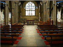 SD9828 : St Thomas a Becket & St Thomas the Apostle Church, Heptonstall, Interior by Alexander P Kapp