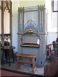 TG2202 : The church of St Remigius - the church organ by Evelyn Simak