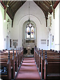 TG2202 : The church of St Remigius - view west by Evelyn Simak