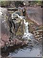 NR7276 : Waterfall on Abhainn Mhor by Dutyhog