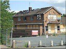 SO9199 : Arson at the Waggon & Horses by John M