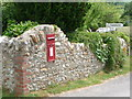 SY3695 : Wootton Fitzpaine: postbox № DT6 6 by Chris Downer