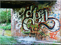 SU3468 : Under the bridge, Kennet and Avon canal, Hungerford by anonymous1000