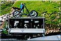 G5489 : Port - Interesting trailer in parking space by Joseph Mischyshyn