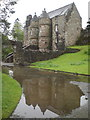 NS4342 : Rowallan (Old) Castle by VERNON MONAGHAN