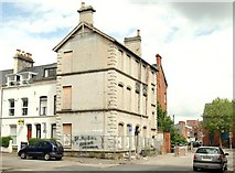 J3472 : Derelict building near Queen's University, Belfast by Albert Bridge
