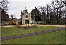 SE5947 : Gateway to Bishopthorpe Palace by Peter Church