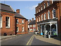 TG1926 : Aylsham town centre just off the market place, Norfolk by nick macneill