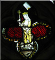 TM2894 : All Saints Church - medieval glass by Evelyn Simak