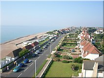 TQ7306 : West Parade Bexhill on Sea. by susan collins