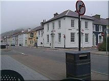 SN4562 : Croesffordd Sgwar Alban ar y A487 / Alban Square crossroad at A487 by G Williams