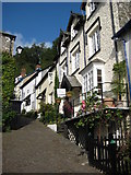 SS3124 : Cottages in Clovelly by Philip Halling