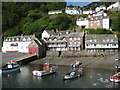 SS3124 : Clovelly Harbour by Philip Halling