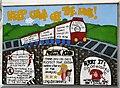 SJ8994 : Keep Crime off the Line by Gerald England