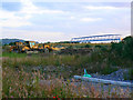 SU1482 : The bridge to nowhere yet, East Wichel, Wichelstowe, Swindon by Brian Robert Marshall