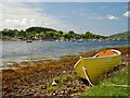 NM8412 : Shore of Loch Melfort at Kilmelford by Patrick Mackie