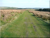 SE0631 : Track over Thornton Moor, Ovenden by Humphrey Bolton