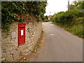 SY4792 : Bothenhampton: postbox № DT6 82, Crock Lane by Chris Downer