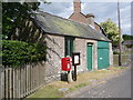 SY7289 : West Stafford: postbox № DT2 55 by Chris Downer