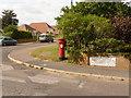 SY9288 : Wareham: postbox № BH20 166, Drax Avenue by Chris Downer