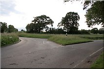 TQ6596 : Junction of Old Church Road with Mountnessing Lane by Graham Loveland