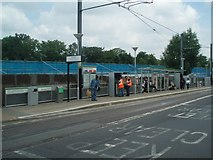 TQ3266 : West Croydon tram stop by Paul Gillett